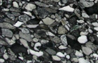 Granit-Konglomerat Black Marinace, Detail