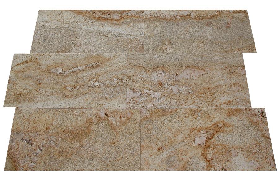 Topnotch Imperial Gold aus dem Granit - Sortiment von Wieland Naturstein FI05