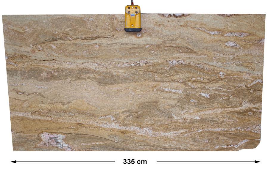 Modne ubrania Imperial Gold aus dem Granit - Sortiment von Wieland Naturstein HM86