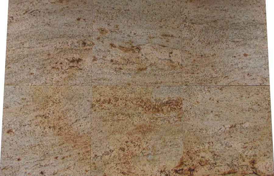 Ivory gold aus dem granit sortiment von wieland naturstein for Polygonalplatten quarzit tropical yellow