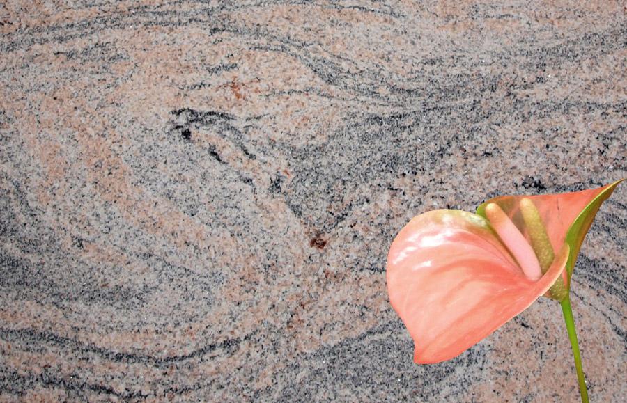 Juparana India aus dem Granit Sortiment von Wieland