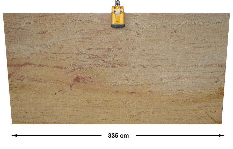 Spice gold aus dem granit sortiment von wieland naturstein for Polygonalplatten quarzit tropical yellow
