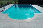 Poolplatten Travertin Olympos