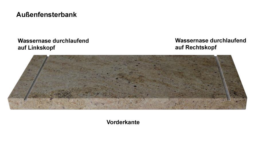 Naturstein Fensterbänke auf Maß, für Innen und Außen von - Wieland ...