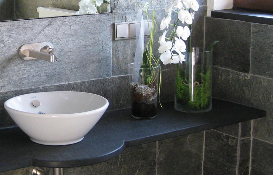Waschtischplatte schiefer  Porto-Schiefer aus dem Schiefer - Sortiment von Wieland Naturstein
